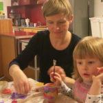 Malen und Basteln mit Eltern und Kindern