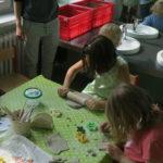 Töpfergruppe für Kinder